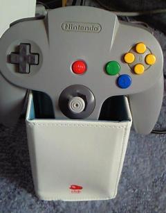 N64コントローラを入れた画像