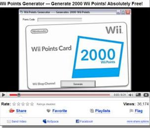 Wii詐欺の画像
