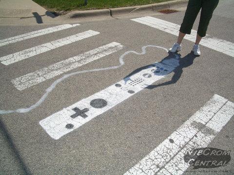 Wiiリモコン横断歩道