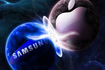 サムスンvsアップルの画像
