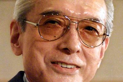 山内溥氏の写真