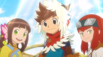 モンスターハンターストリーズアニメの画像