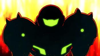メトロイドアニメーションの画像