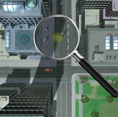 虫メガネで人を焼き殺すゲームの画像