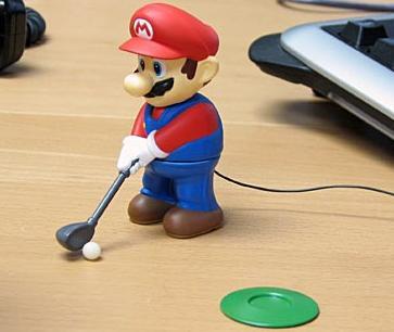 マリオゴルフ人形の画像