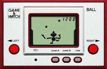 ゲーム&ウォッチ復刻版の画像