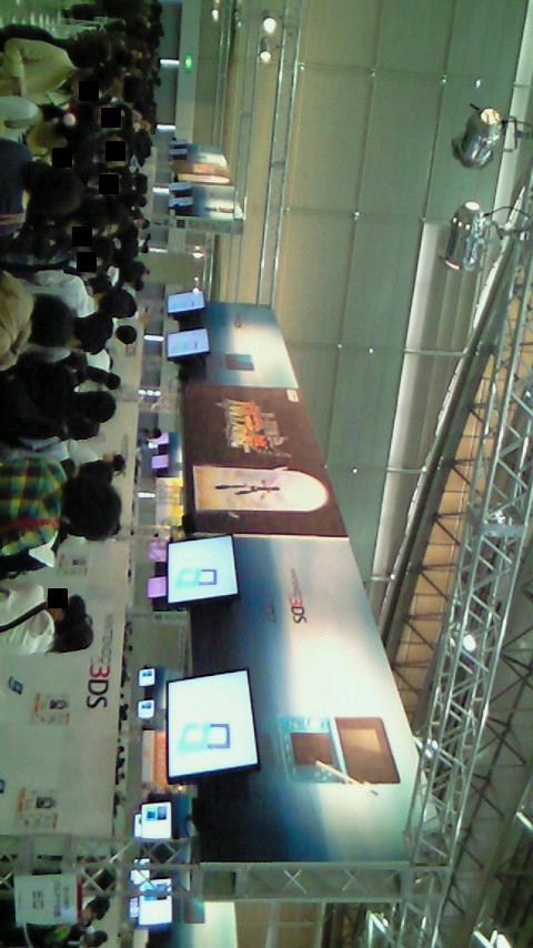 【3DS体験会レポ】二日目、昼過ぎの様子