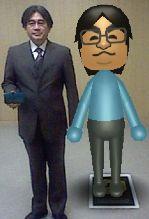 岩田社長と岩田Mii