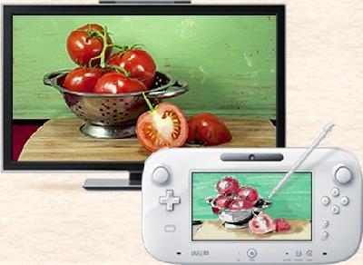 WiiU版絵心教室の画像