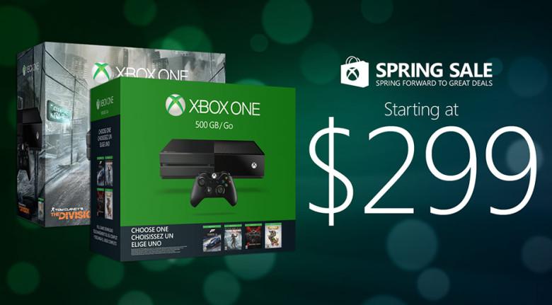 XboxOneが299ドルに値下げされた画像